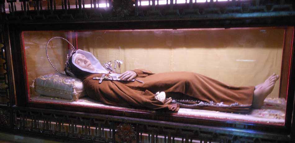 Amici Santa Veronica Giuliani, figli di Maria - Napoli: reliquie della Santa