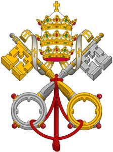 Amici Santa Veronica Giuliani Napoli: Stemma del Papa